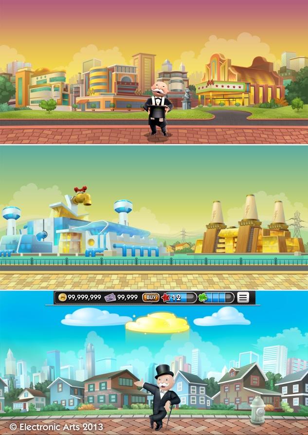Bonus Game Backgrounds