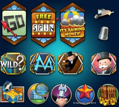 Easy Street Slot Symbols