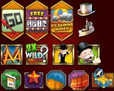 Showtime Slot Symbols