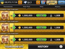 Tournament Entries