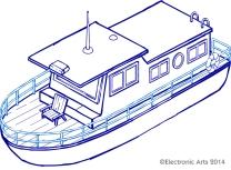 Simpsons Houseboat