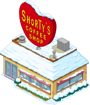 Shorty's Coffee Shop (Winter)