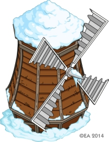Windmill (Winter)
